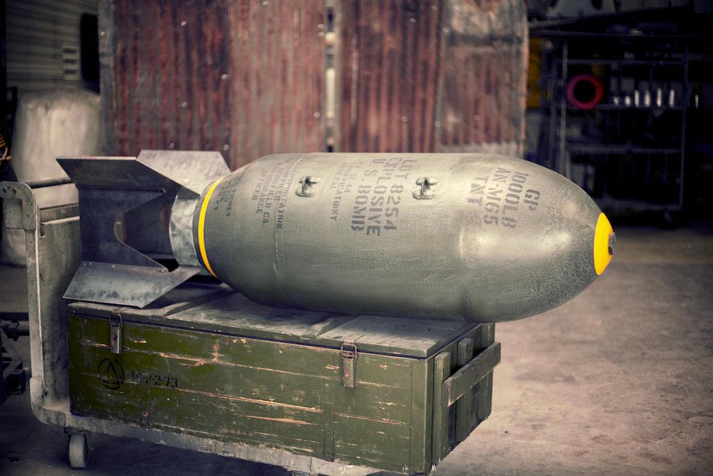 AN-M65/44 Bomb Replica